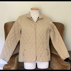 Lands ' End quilt jacket